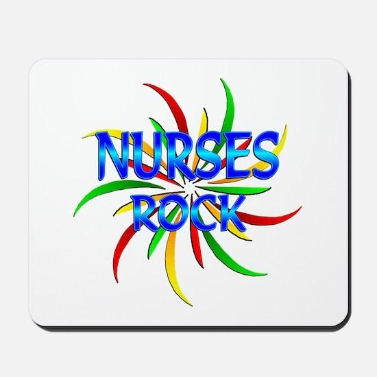 Nurses Rock Mousepad
