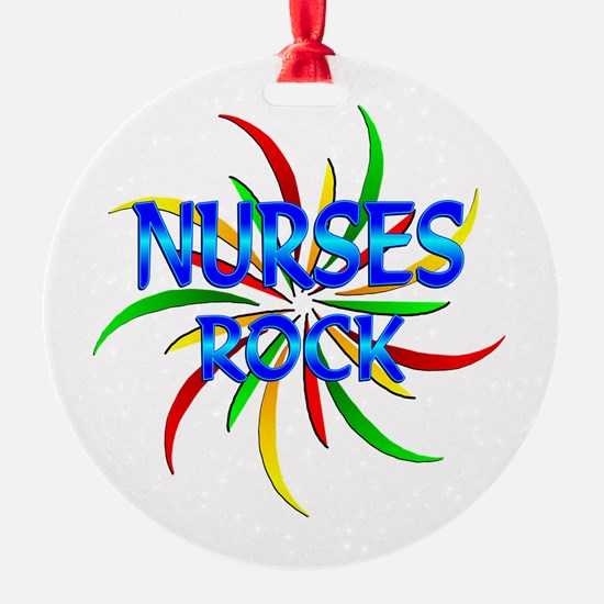 Nurses Rock Ornament