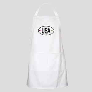 USA Euro-style Country Code BBQ Apron