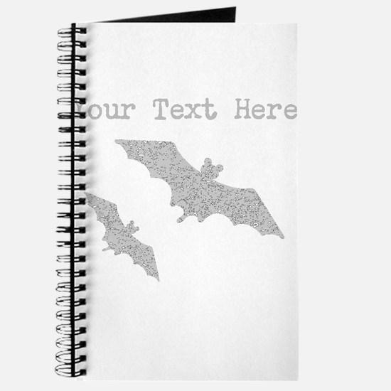 Distressed Grey Bats (Custom) Journal