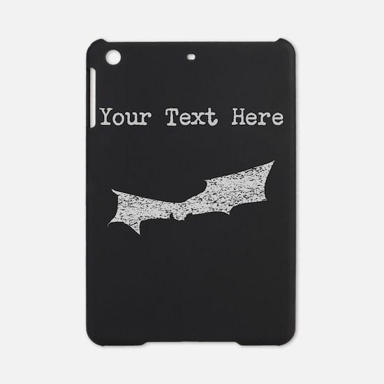 Distressed Grey Bat (Custom) iPad Mini Case