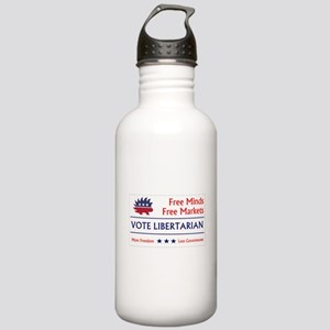 Vote Libertarian 2 Water Bottle