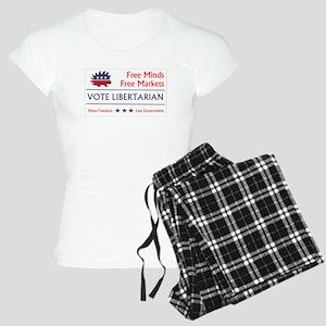Vote Libertarian 2 Pajamas