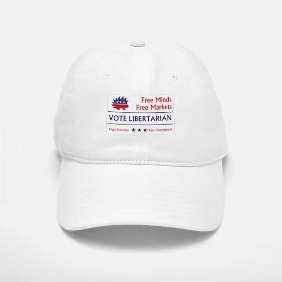 Vote Libertarian 2 Baseball Baseball Baseball Cap
