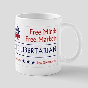 Vote Libertarian 2 Mugs