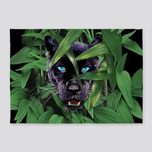 Prowling Panther 5'x7'Area Rug