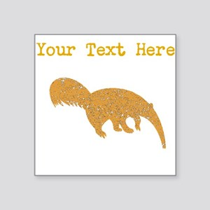 Distressed Brown Anteater (Custom) Sticker