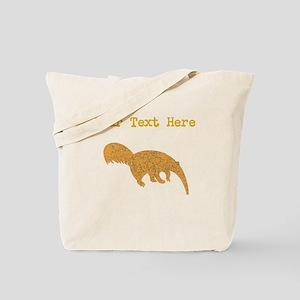 Distressed Brown Anteater (Custom) Tote Bag