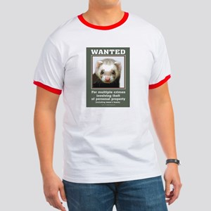 Ferret Wanted Poster Ringer T