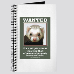 Ferret Wanted Poster Journal