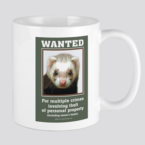 Ferret Wanted Poster Mug