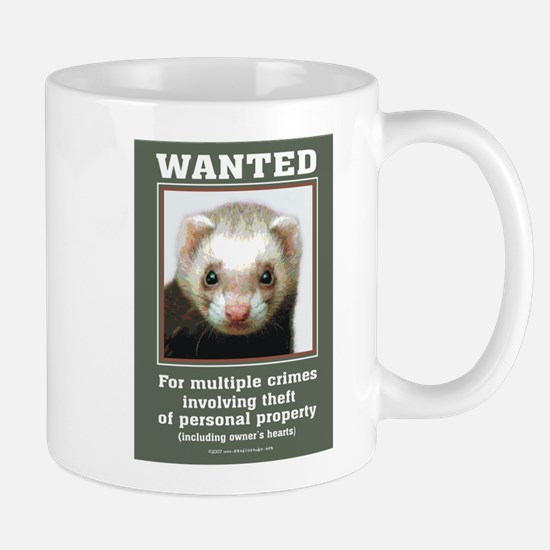 Ferret Wanted Poster Mug