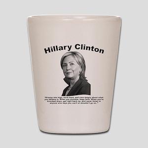 Hillary: AimHigh Shot Glass