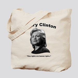 Hillary: GayRights Tote Bag