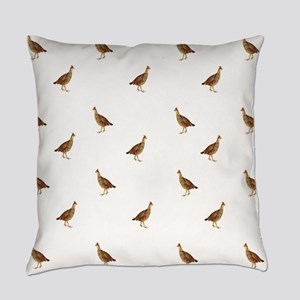 Prairie Chickens Everyday Pillow