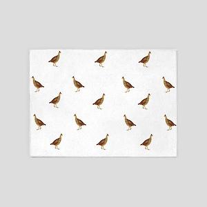 Prairie Chickens 5'x7'Area Rug