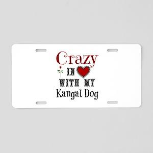 Kangal Dog Aluminum License Plate