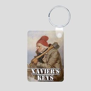 Xavier's Keys Keychains