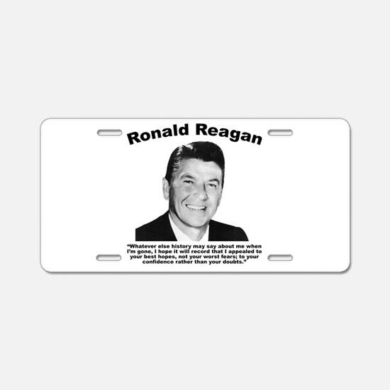 Reagan: Legacy Aluminum License Plate