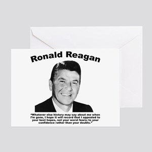 Ronald reagan greeting cards cafepress reagan legacy greeting card bookmarktalkfo Choice Image