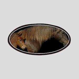 horse morgan Patch