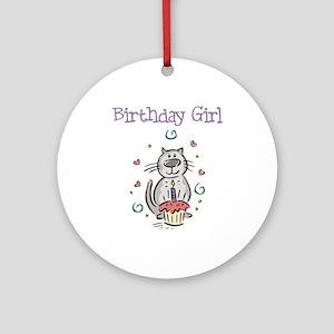 Birthday Girl Cat - Keepsake