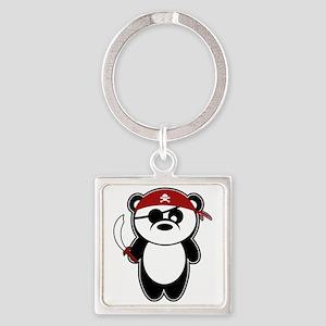 Pirate Panda Keychains