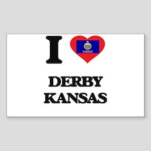 I love Derby Kansas Sticker