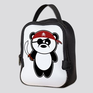 Pirate Panda! Neoprene Lunch Bag