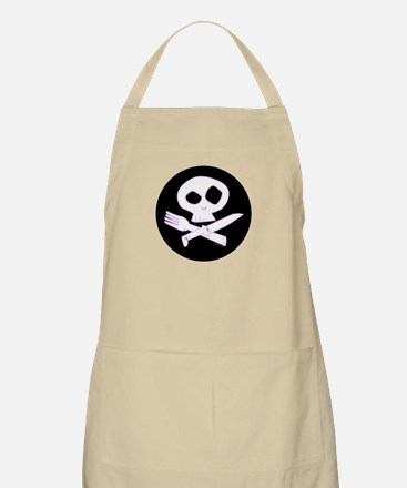 Purple Foodie Skull Apron