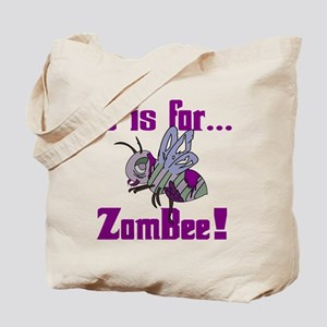 Z is for Zombee Tote Bag