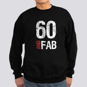 Fabulous 60th Birthday Sweatshirt (dark)