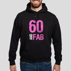 Fabulous 60th Birthday Hoodie (dark)