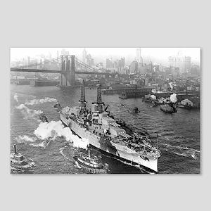 USS Arizona 1916 Postcards (Package of 8)