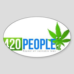420 People Logo Classic 1 Sticker