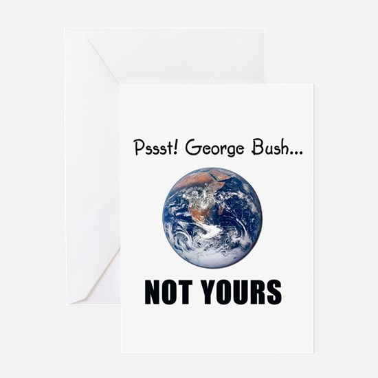 Not your planet Greeting Card