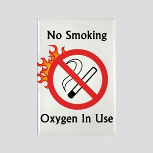 No smoking Rectangle Magnet (10 pack)