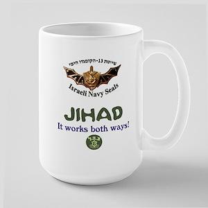 IDF Seals JIHAD Large Mug