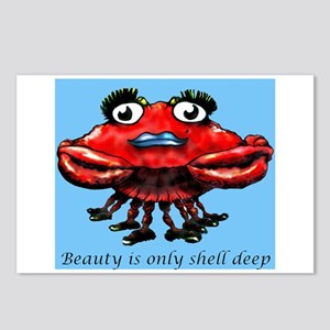 Beauty is only shell deep Postcards (Package of 8)