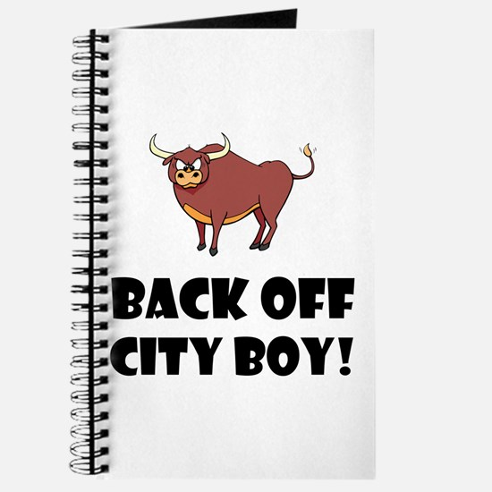 Back Off City Boy Journal