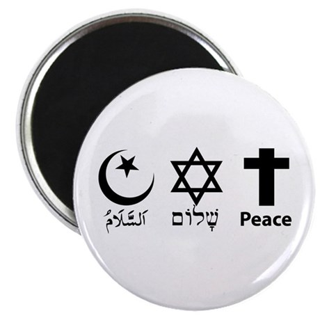 """Peace 2.25"""" Magnet (10 pack)"""
