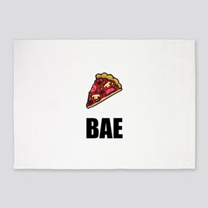Pizza Bae 5'x7'Area Rug