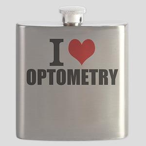 I Love Optometry Flask