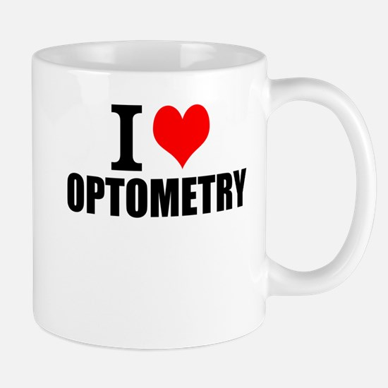 I Love Optometry Mugs