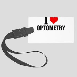 I Love Optometry Luggage Tag