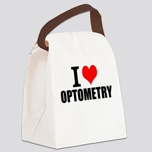 I Love Optometry Canvas Lunch Bag
