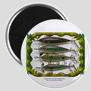 "Heddon Minnows 2.25"" Magnet (10 pack)"