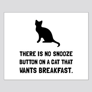 Snooze Button Cat Posters