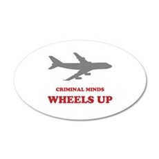 Criminal Minds: Wheels Up Wall Decal