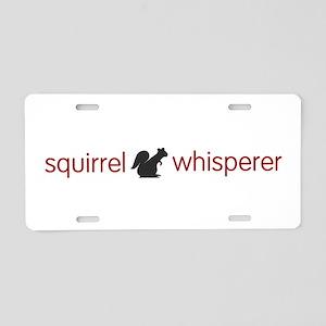 squirrel-light Aluminum License Plate